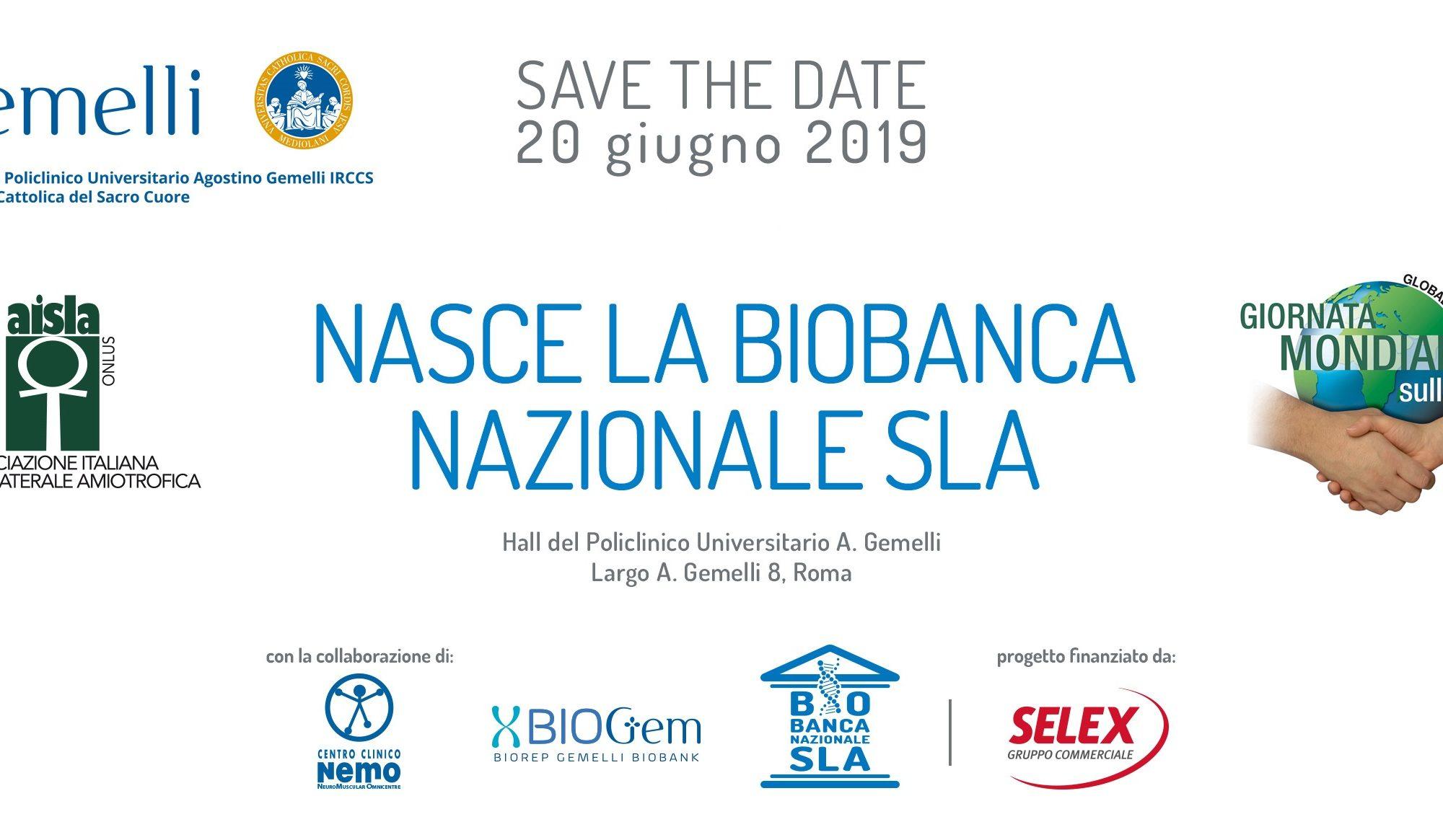 Nasce la prima Biobanca nazionale SLA